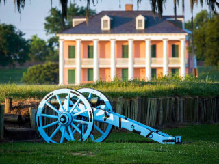 Chalmette  Battlefield site of Battle of New Orleans